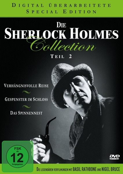 Die Sherlock Holmes Collection - Teil 2 (Neuauflage) (3 DVDs)
