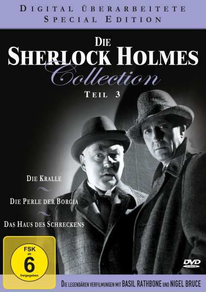 Die Sherlock Holmes Collection - Teil 3 (Neuauflage) (3 DVDs)