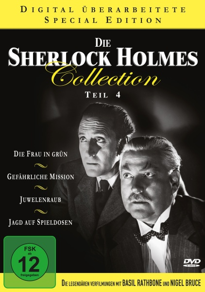 Die Sherlock Holmes Collection - Teil 4 (Neuauflage) (4 DVDs)
