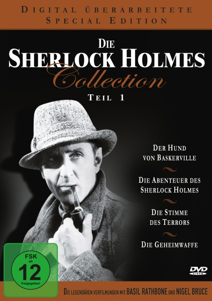 Die Sherlock Holmes Collection - Teil 1 (Neuauflage) (4 DVDs)