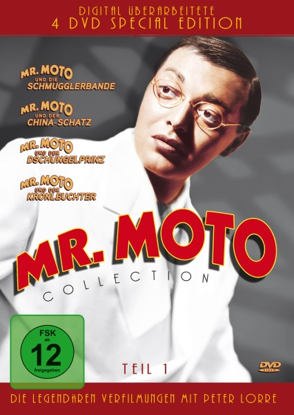 Mr. Moto Collection - Teil 1 (4 DVDs)