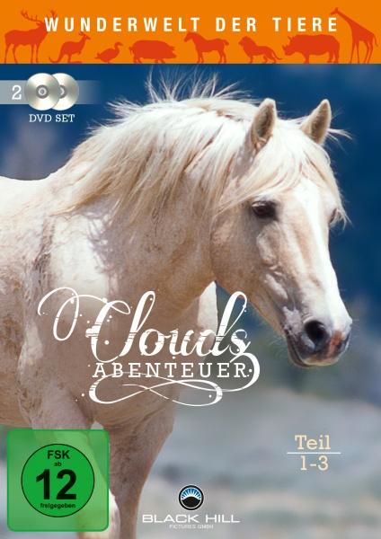 Wunderwelt der Tiere - Clouds Abenteuer - Teil 1 - 3  (2-DVD-Set)