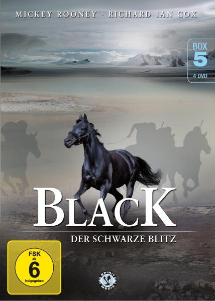 Black, der schwarze Blitz - Box 5 (4 DVDs)