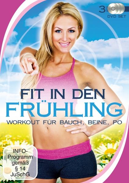 Fit in den Frühling - Workout für Bauch, Beine, Po (3 DVDs)
