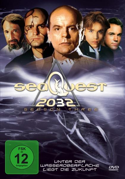 Seaquest DSV - Die komplette 3. Staffel (4 DVDs)
