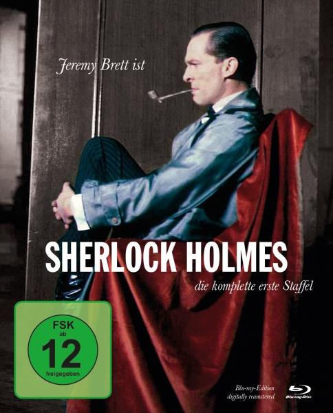 Sherlock Holmes - Staffel 1 in HD (4 Blu-rays)