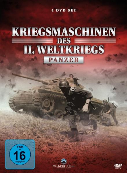 Kriegsmaschinen des 2. Weltkriegs - Panzer (Neuauflage) (4 DVDs)