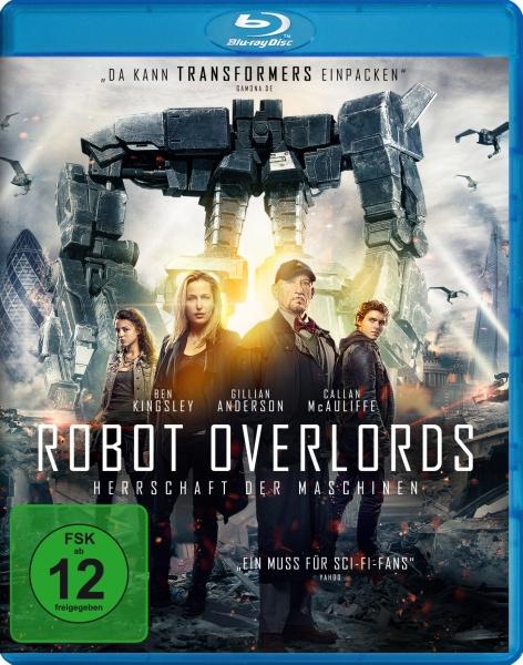 Robot Overlords - Herrschaft der Maschinen (Blu-ray)