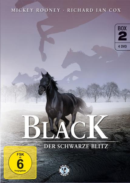 Black, der schwarze Blitz - Box 2 (Neuauflage) (4 DVDs)