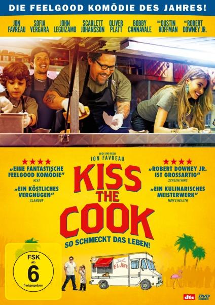 Kiss the Cook - So schmeckt das Leben! (DVD)