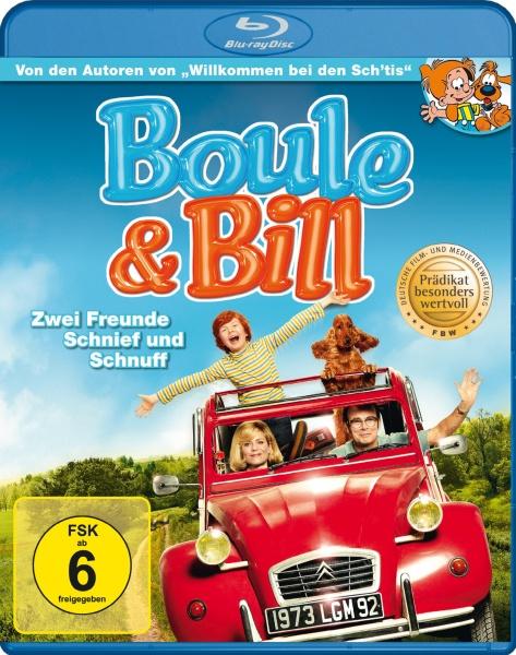 Boule & Bill - Zwei Freunde Schnief und Schnuff (Blu-ray)