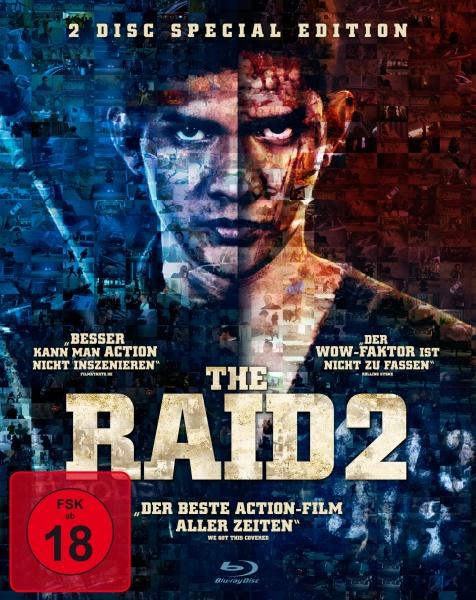 The Raid 2 - 2 Disc Special Edition (2 Blu-rays)
