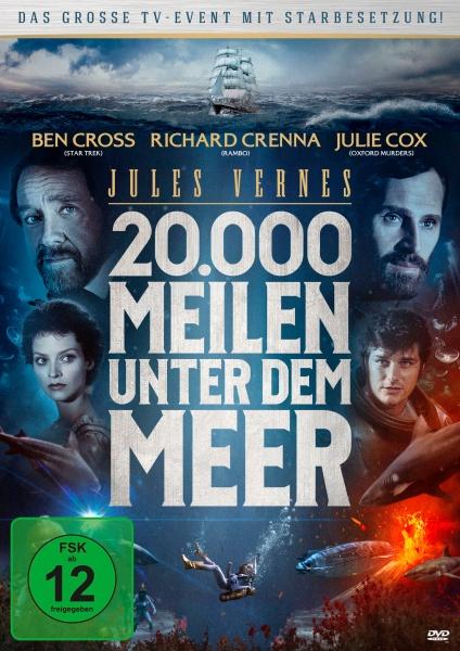Jules Verne: 20.000 Meilen unter dem Meer (DVD)