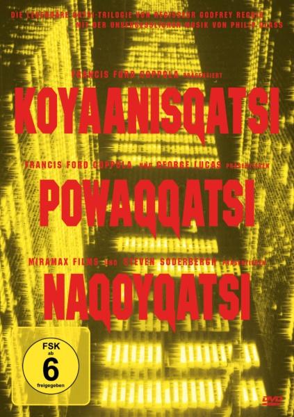 Die Qatsi-Trilogie (Koyanisqatsi, Powaqqatsi, Nagoyqatsi) (Remastered Edition) (3 DVDs)