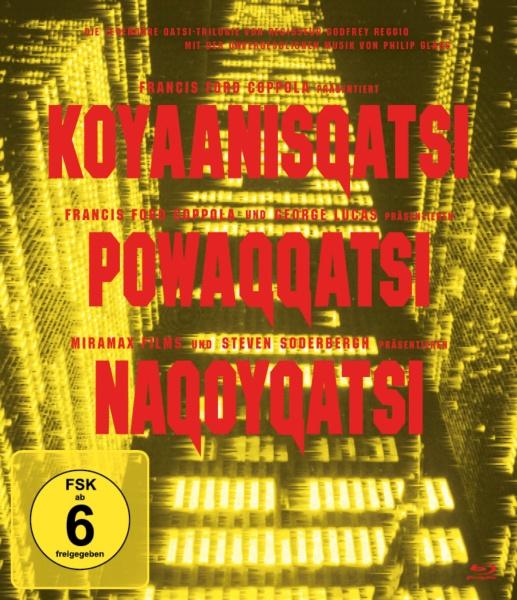 Die Qatsi-Trilogie (Koyanisqatsi, Powaqqatsi, Nagoyqatsi) (Remastered Edition) (3 Blu-rays)