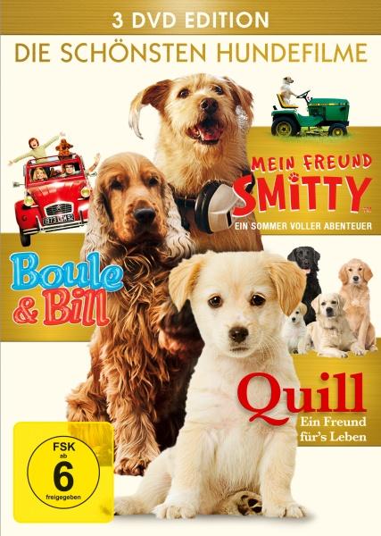 Die schönsten Hundefilme (Quill, Smitty, Boule & Bill) (3 DVDs)