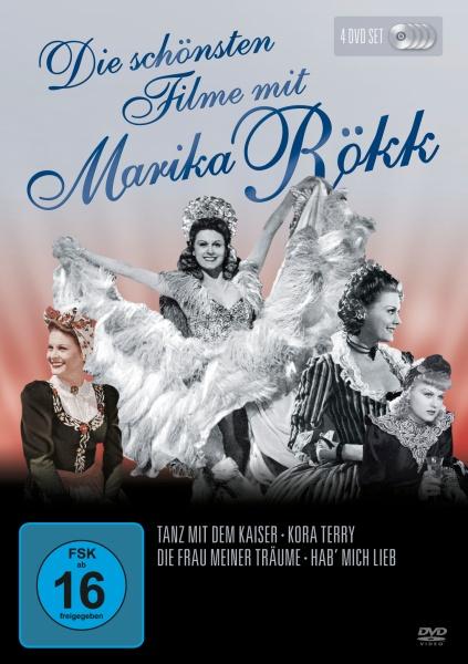 Die schönsten Filme von Marika Rökk (4 DVDs)