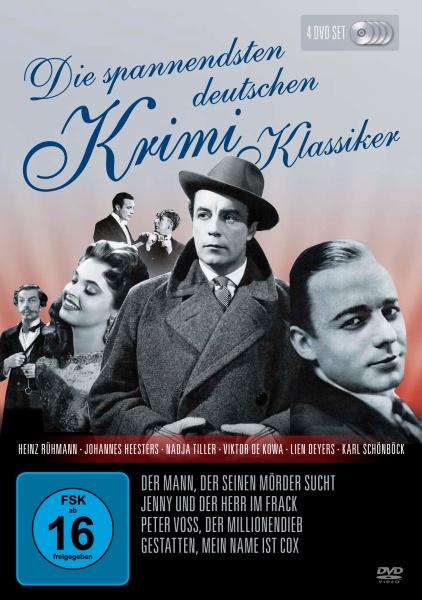 Die spannendsten deutschen Krimi-Klassiker (4 DVDs)
