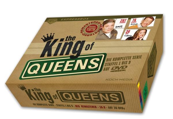 The King of Queens - Die komplette Serie - IPS-Box (36 DVDs)