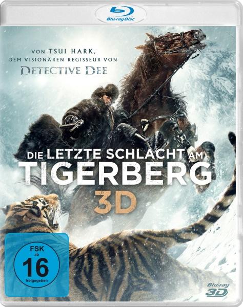 Die letzte Schlacht am Tigerberg 3D (3D-Blu-ray inkl. 2D-Fassung)