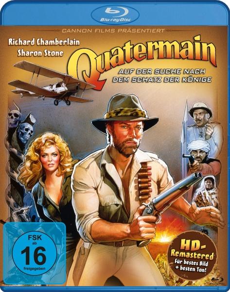 Quatermain - Auf der Suche nach dem Schatz der Könige (Blu-ray)