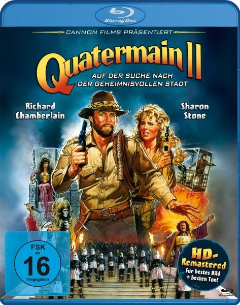 Quatermain 2 - Auf der Suche nach der geheimnisvollen Stadt (Blu-ray)