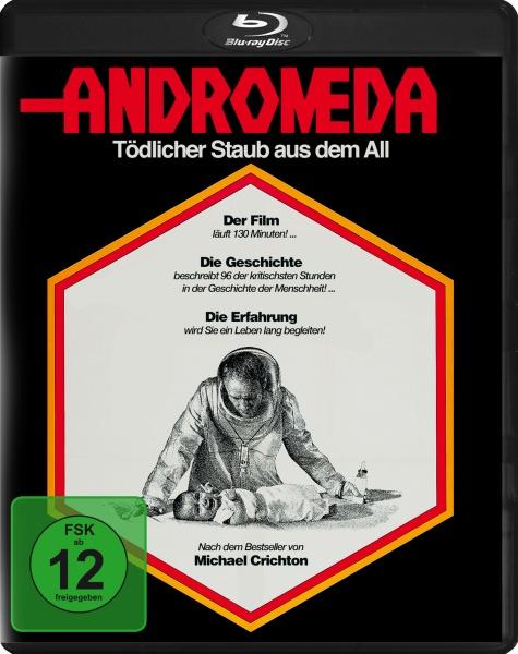Andromeda - Tödlicher Staub aus dem All (Blu-ray)