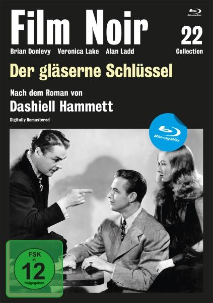 Film Noir Collection #22: Der gläserne Schlüssel (Blu-ray)