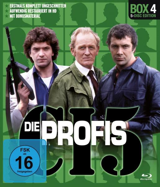 Die Profis - Box 4 (5 Blu-rays)
