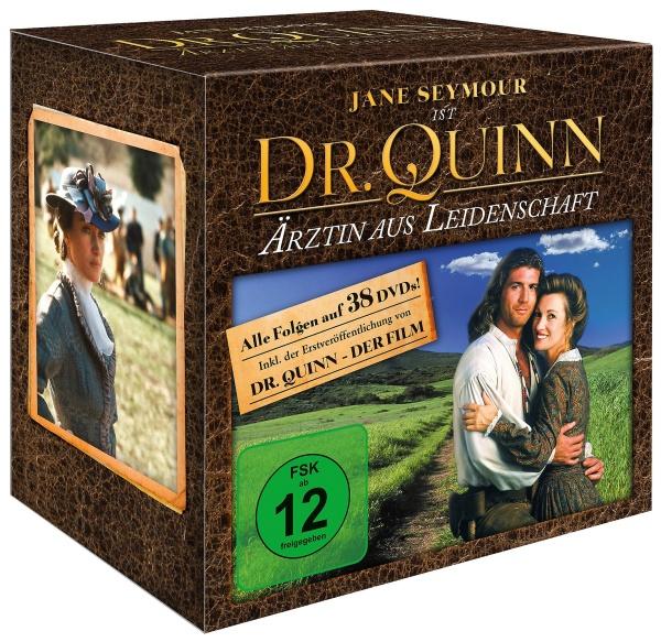 Dr Quinn - Ärztin aus Leidenschaft - Die komplette Serie mit Film (38 DVDs)