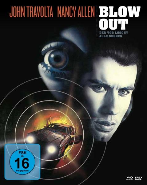 Blow Out - Der Tod löscht alle Spuren (Mediabook, 1 Blu-ray und 2 DVDs)