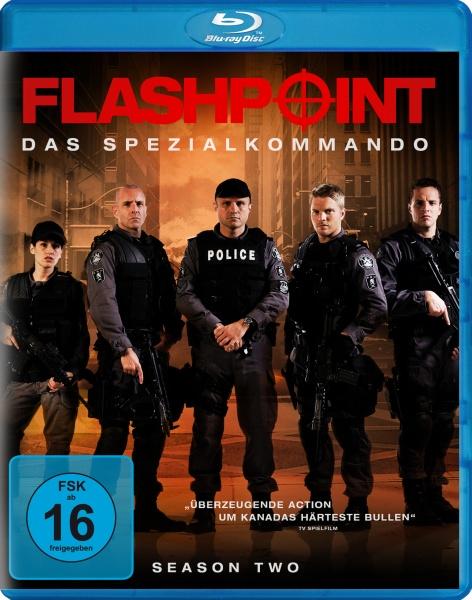 Flashpoint - Das Spezialkommando, Staffel 2 (2 Blu-rays)