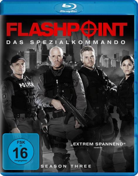 Flashpoint - Das Spezialkommando, Staffel 3 (2 Blu-rays)