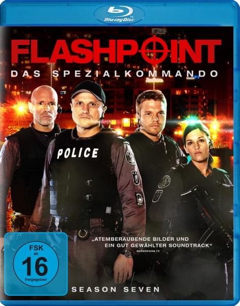 Flashpoint - Das Spezialkommando, Staffel 7 (3 Blu-rays)