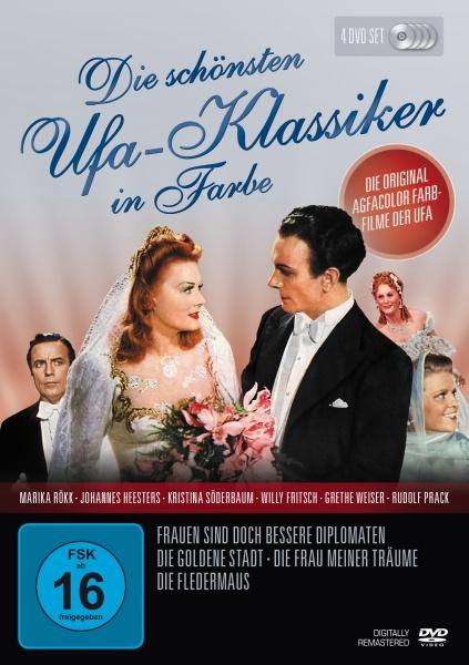 Die schönsten UFA-Klassiker in Farbe (4 DVDs)