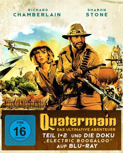 Quatermain - Das ultimative Abenteuer (3 Blu-rays)