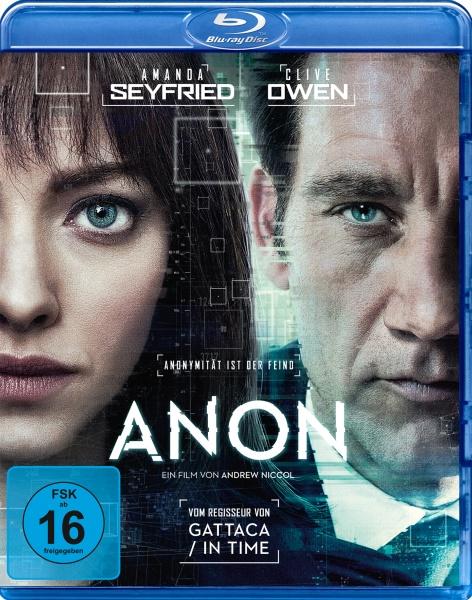 Anon (Blu-ray)