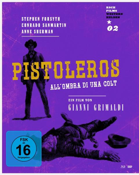 Pistoleros (Westernhelden #2) (1 Blu-ray und 1 DVD)
