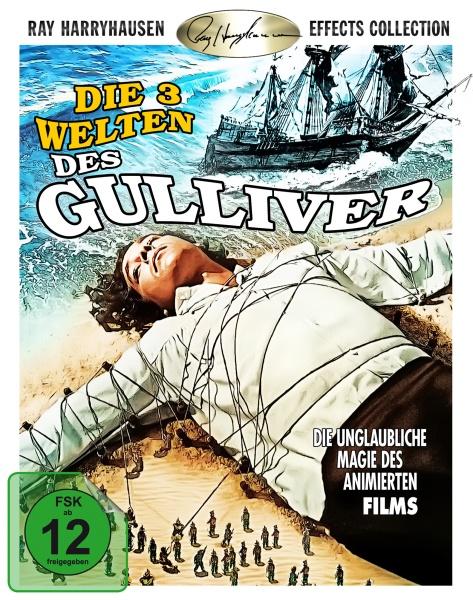 Die drei Welten des Gulliver / The three worlds of Gulliver (Blu-ray)