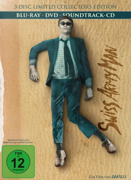 Swiss Army Man - Mediabook (Cover B) (1 Blu-ray+1 DVD+1 CD)