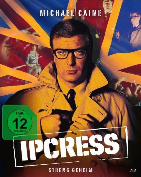Ipcress - Streng geheim (Mediabook, 2 Blu-rays + 1 Bonus-DVD)