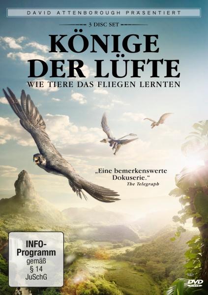 David Attenborough: Könige der Lüfte (3 DVDs)