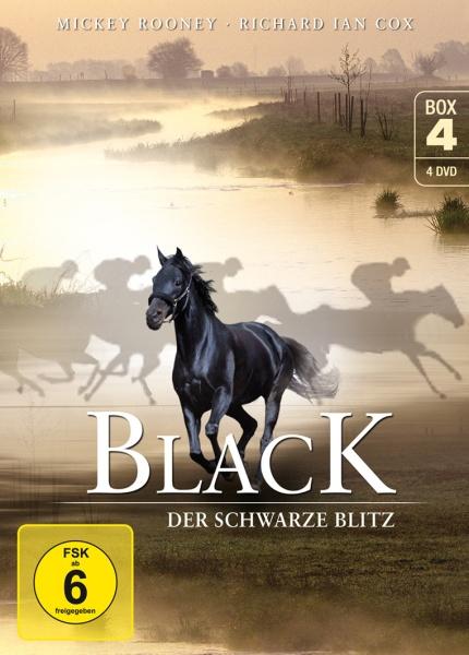 Black, der schwarze Blitz - Box 4 (Neuauflage) (4 DVDs)