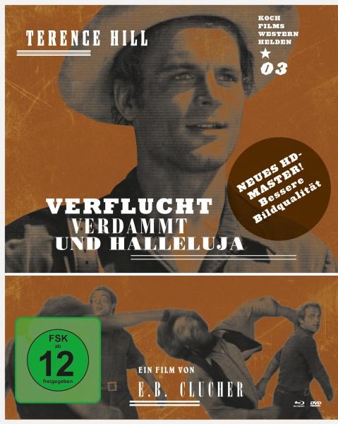 Verflucht, verdammt und Halleluja (Westernhelden #3) (1 Blu-ray + 1 DVD)