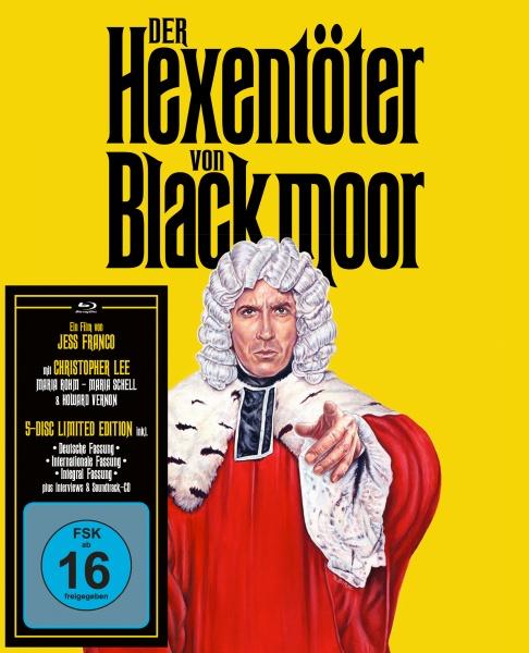 Der Hexentöter von Blackmoor (2 Blu-rays + 2 Bonus-DVDs + 1 CD)