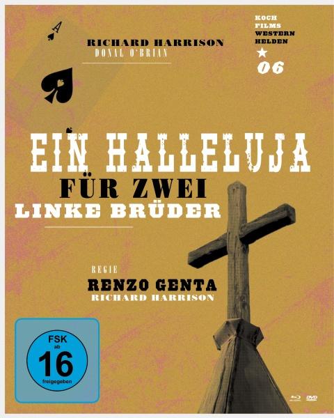 Ein Halleluja für 2 linke Brüder (Westernhelden #6) (1 Blu-ray + 1 DVD)