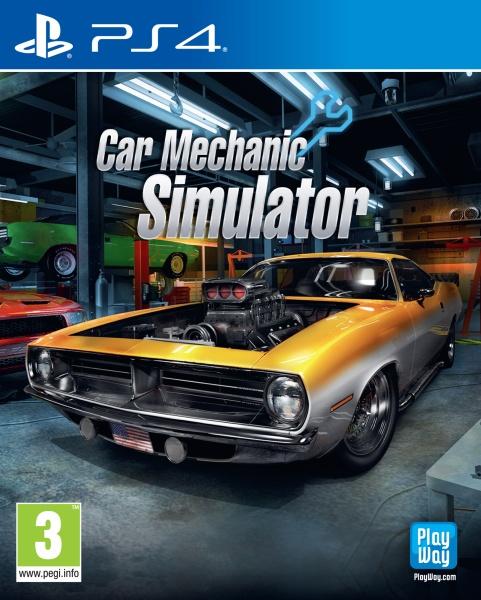 Koch Media > Games > Playstation 4 > Car Mechanic Simulator (PS4) (FR)