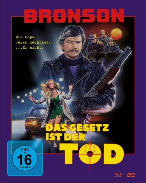 Das Gesetz ist der Tod (Mediabook, Blu-ray + DVD) (Cover A)