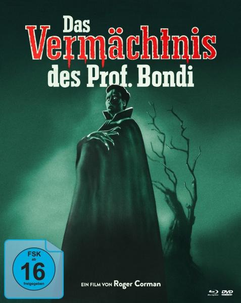 Das Vermächtnis des Professor Bondi (Mediabook, 2 Blu-rays + 1 DVD)