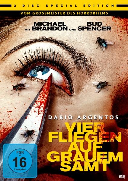 Dario Argentos Vier Fliegen auf grauem Samt (2 DVDs)